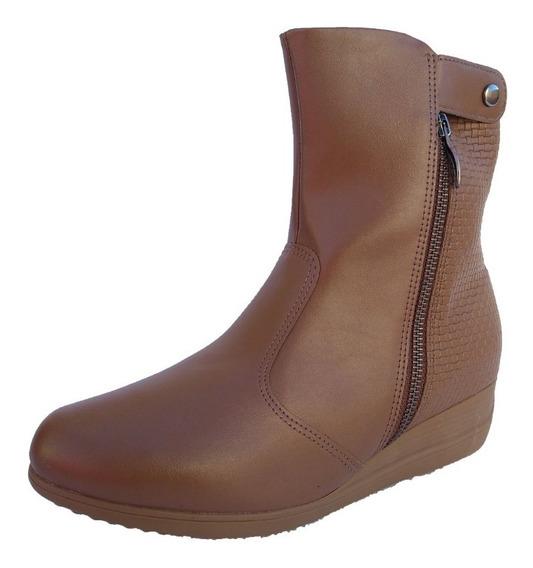 Bota Botineta Zapato Con Broche Taco 5cm Mujer Piccadilly !!