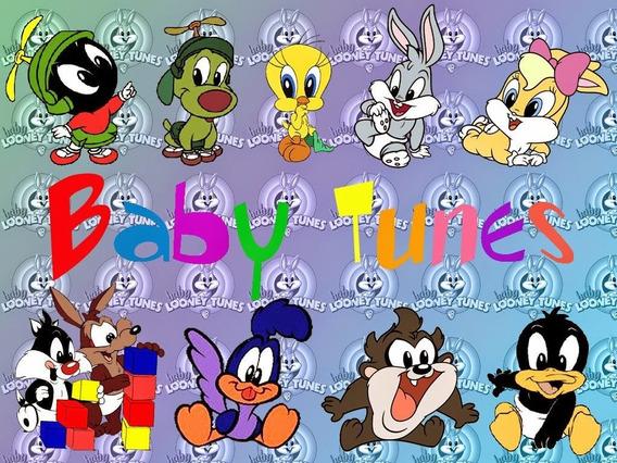 Tarjetas De Invitacion Looney Toons Bebes Souvenirs