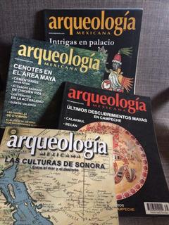 Revistas Arqueología Mexicana, Completa Tu Colección