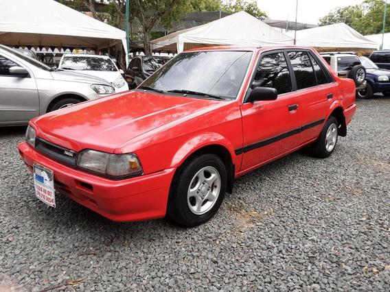 Mazda 323 Motor 1.5 1990 Rojo Montana 4 Puertas