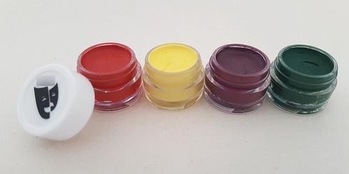 Imagen 1 de 2 de Base Cremosa Maquillaje Titi Kit 4x5gr Neto 20gr Moretones