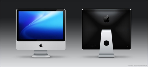 Apple iMac 24 Processador Intel 3,06 Ghz, 4 Gb Ram, Hd 1tb