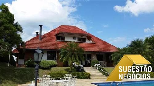 Casa No Porto De Ibiúna Condomínio Alto Padrão - 2858