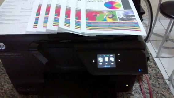 Impressora Hp 8600 C/ Bulk Nova C/ Pouquissimas Pag. Teste