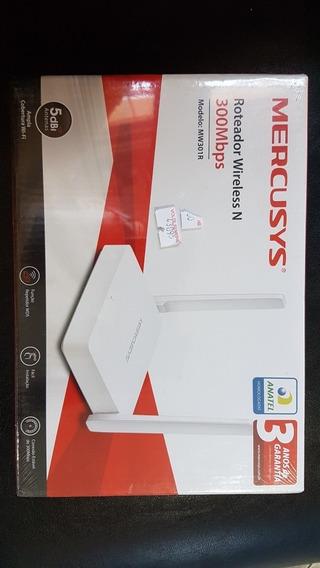 Roteador Wireless N 300mbps Modelo:mw301r Lacrado