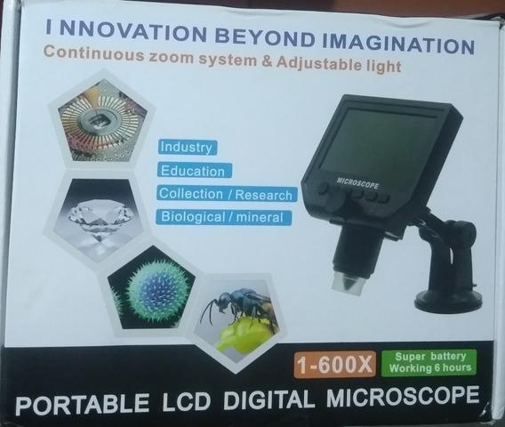 Microscópio Lcd