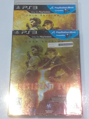 Ps3 Resident Evil 5 Gold Edition Juego Físico Usado
