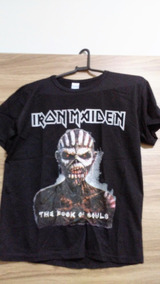 Camisa Iron Maiden - The Book Of Souls