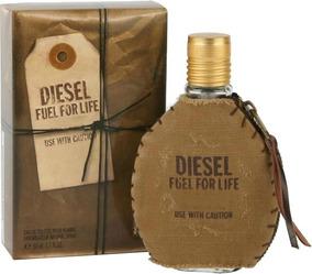 Perfume Diesel Fuel For Life Edt 50 Ml Original E Lacrado