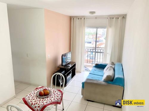 Apartamento Com 3 Dormitórios À Venda, 65 M² Por R$ 350.000,00 - Campestre - Santo André/sp - Ap1199
