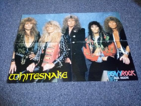 Poster Doble Whitesnake Gary Moore