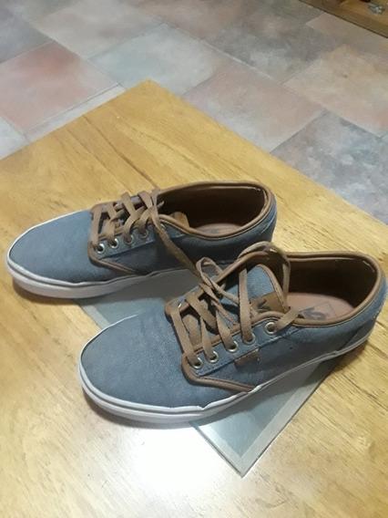 Zapatillas Vans - 6.5 - Azul