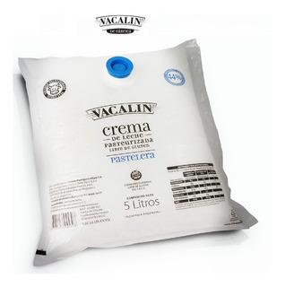 Crema De Leche X 5 Lt Vacalin (precio Por Lt)