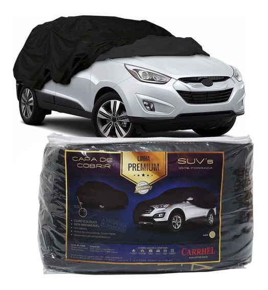 Capa Couro Cobrir Carro Suv Automotiva Protetora Forrada Xg