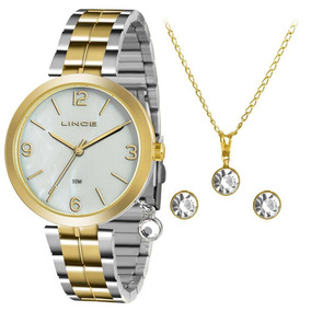 Relógio Lince Lrt4458l-kt67b2sk Analógico Caixa De Metal