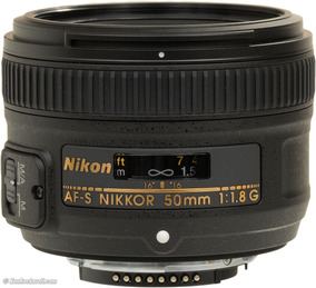 Lente Nikon 50mm F/1.8g Af-s Autofoco Parasol Pro Entrega Sp