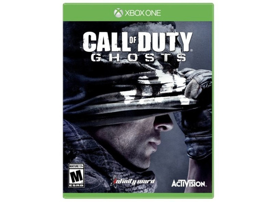 Call Of Duty Ghosts Xbox One Digital Código De 25 Dígitos