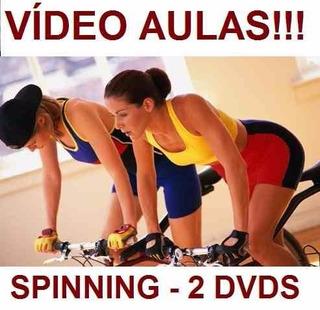 Curso De Spinning Aulas Em 2 Dvds Fgh