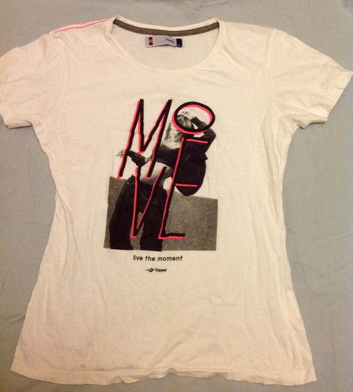 Remera Mujer Topper Talle M