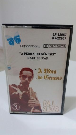 Fita K7 Raul Seixas- A Pedra Do Genesis 1988
