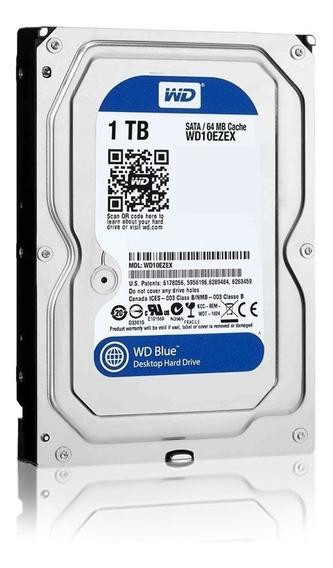Disco Rigido 1tb Western Digital Wd Blue Sata 3 Hd 3.5 Pce