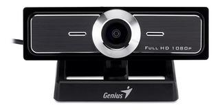 Webcam Genius Facecam F100 Mic Full Hd 1080 Streaming Cuotas