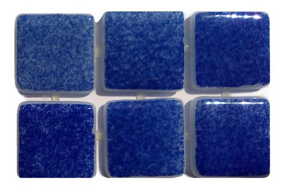 Mosaico Vítreo / Niebla /color: Azul Fuerte