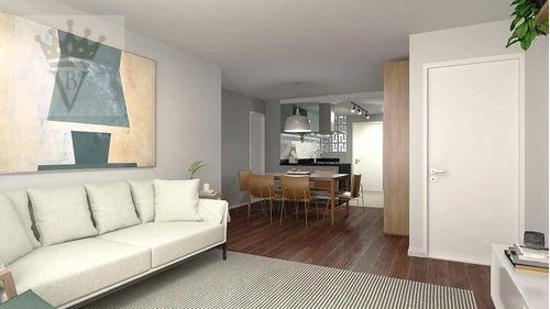 Apartamento Com 3 Dormitórios À Venda, 119 M² Por R$ 1.300.000,00 - Pinheiros - São Paulo/sp - Ap5108
