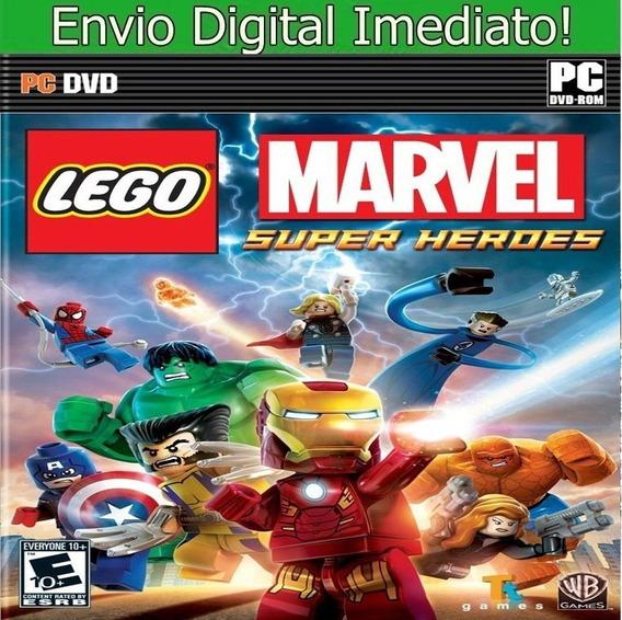Lego Marvel Super Heroes Pc Hd Envio Imediato.