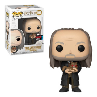 Funko Pop! Harry Potter - Flitch And Mrs. Norris Nycc 2019