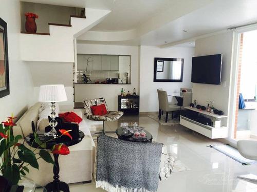 Imagem 1 de 8 de Cobertura Residencial Para Venda E Locação, Paraíso, São Paulo - Co0627. - Co0627