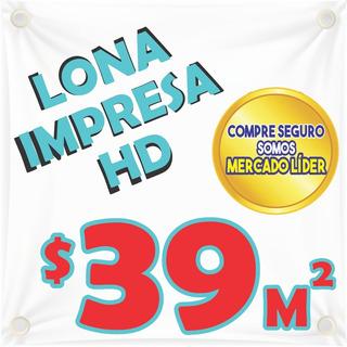 Lona Impresa Premium,calidad Hd, Entregas Urgentes