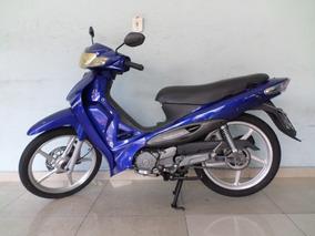 Dafra Zig 100 Azul 2010 Lindissima Revisada E Com Garantia