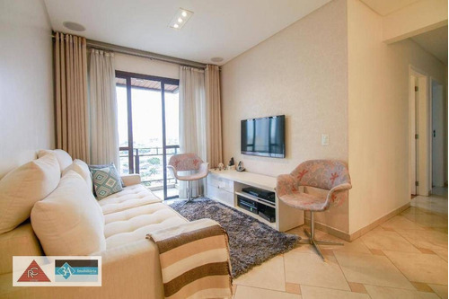 Imagem 1 de 25 de Apartamento Com 3 Dormitórios À Venda, 85 M² Por R$ 550.000 - Tatuapé - São Paulo/sp - Ap6733