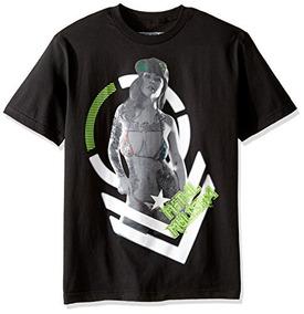 Metal Camiseta Luz Hombres Show Mulisha dCoBexr