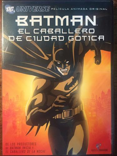 Dvd Batman El Caballero De Ciudad Gotica / Gotham Knight
