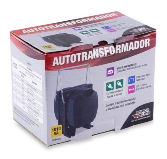 Transformador Autotrafo 110 220 Ou 220 110 1010 Va Force Lin