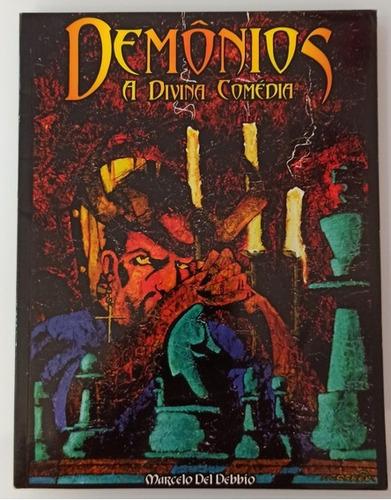 Livro Rpg Demônios A Divina Comédia Marcelo Del Debbio