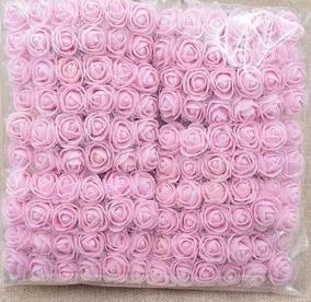 12 Buque Mini Rosas Flores Rosinhas Artificiais