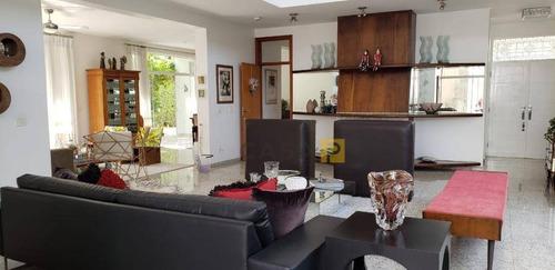 Casa Com 5 Dormitórios À Venda, 550 M² Por R$ 2.200.000 - Parque Residencial Nardini - Americana/sp - Ca0417