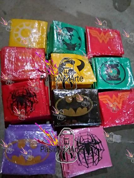 Capas Estamp Superheroes,princesas,araña,super Heroes