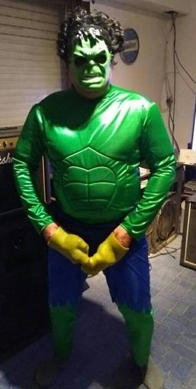 Disfraz Increible Hulk Músculos Adulto Xl Por Día