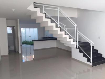 Linda Casa Dúplex Com 03 Quartos Em Verde Mares - Ca0301