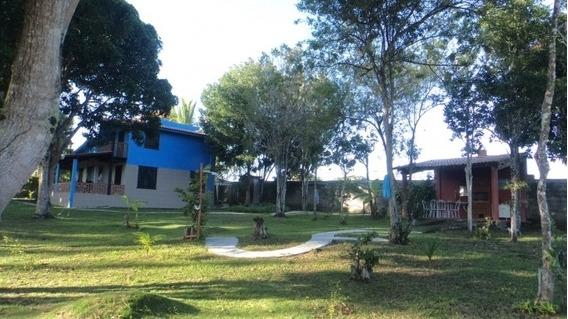 Vendo Casa Com Terreno Amplo No Litoral Da Bahia - 1204