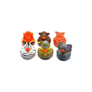 Safari-zoo Rubber Duckies (paquete De 2)