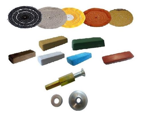 Cutelaria Polimento Faca Cabo Lamina Inox Madeira 12pçs Kit