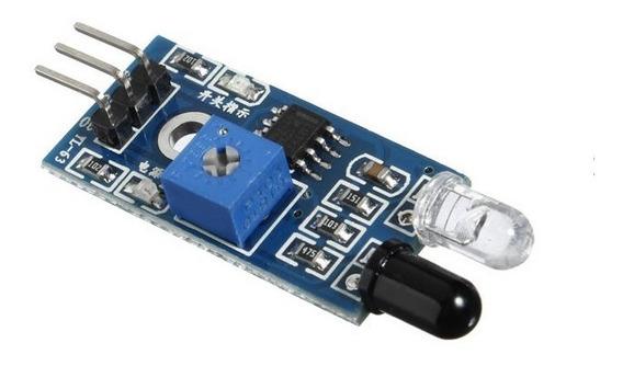 2 Peças - Modulo Sensor De Obstaculo Infravermelho Ir
