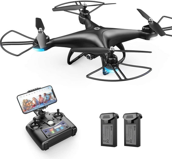 Drone Holy Stone Hs110d Fpv Rc Com Câmera Hd 1080p Vídeo