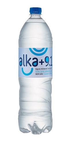 Imagem 1 de 1 de Água Mineral Alka+9.1 1,5l - Sem Gás - Pet Bpa Free