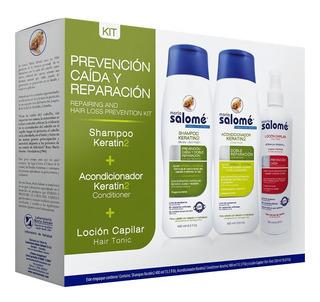 Kit Shampoo Keratin2 + Acond + Loción M - mL a $14